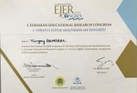 2014 EJER Katılım Belgesi İstanbul