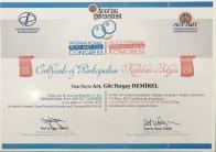 2015 Oyun Oyuncak Kongresi Katılım Belgesi Erzurum